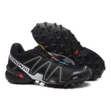 Salomon Speedcross 3 черные с серым